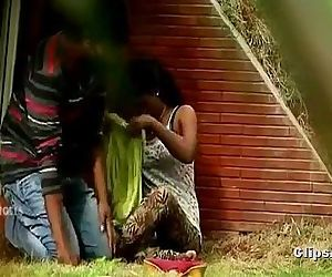 Indian Hot Masala video featuring park encounter of desi lovers - Wowmoyback - 12 min