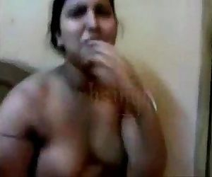 desi aunty fucking with lover in front of her maid - XVIDEOS.COM - 7 min