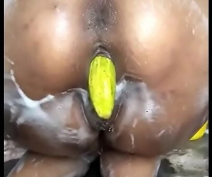 Desi pussy bentover and insertion 76 sec